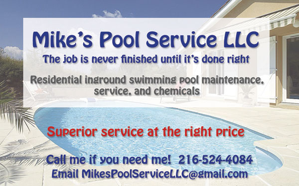 Mike's Pool Service LLC - 216-524-4084